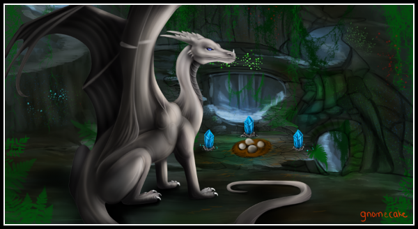 A newer scene of Atmora commissioned once again by the amzing artist Gnomecake. <br><a href=